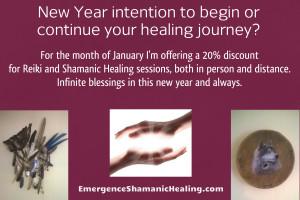 New Year Emergence Shamanic Healing