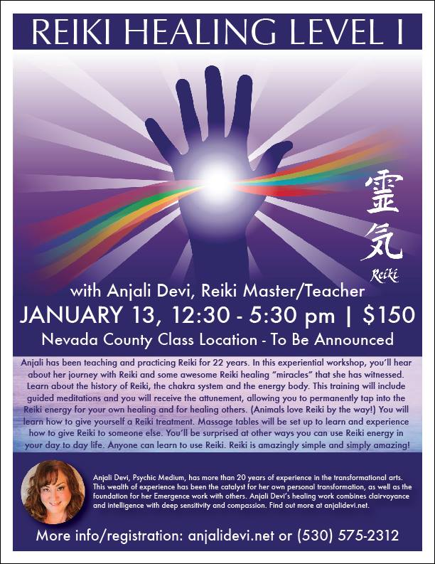 Reiki Training 2018