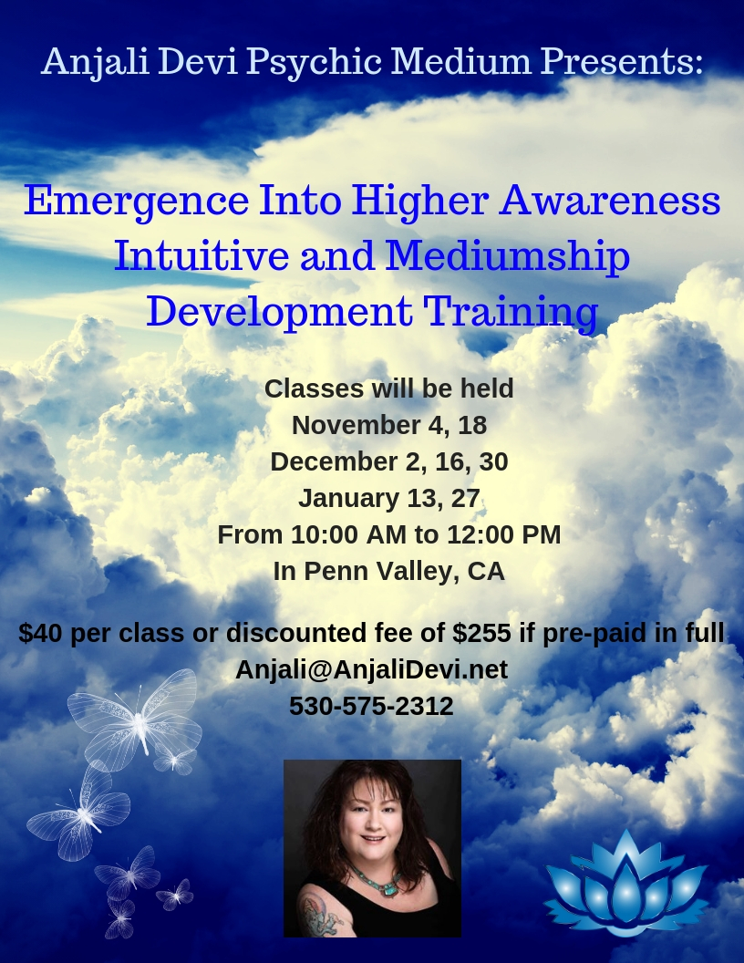 Anjali Devi Presents_Emergence Into Higher Awareness- Intuitive Development Training